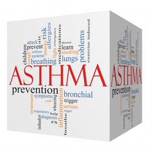 causes of childhood asthma